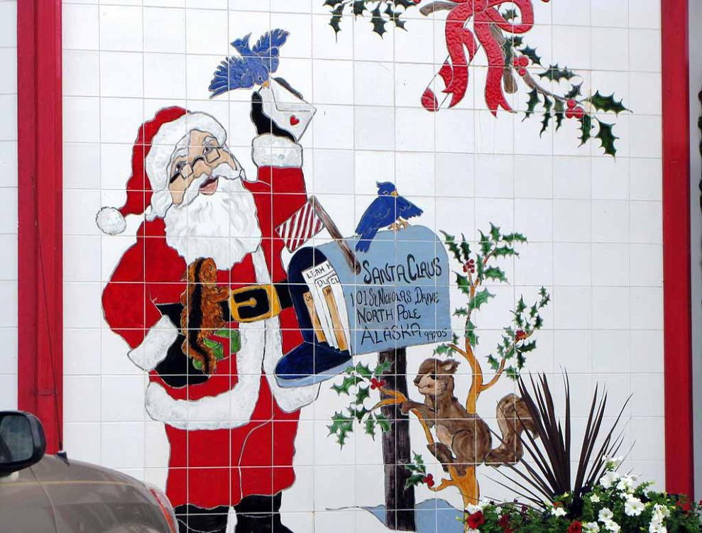 letters to santa north pole alaska usps go to see alaska part 5 scenic richardson highway and 27683 | 6s mail box of Santa Clause in North Pole Alaska 09 017 989x751